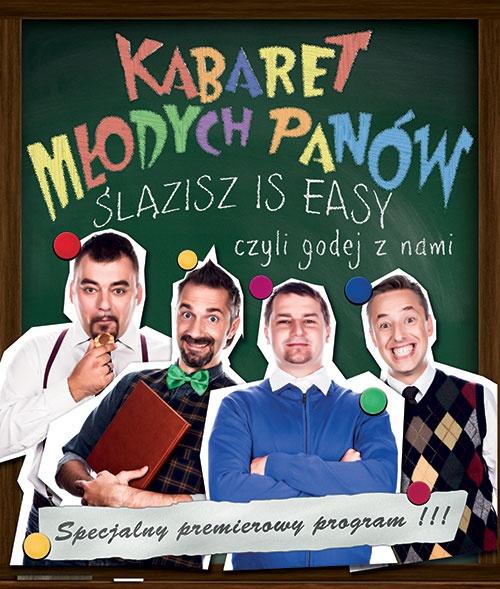 Plakat Kabaret Młodych Panów